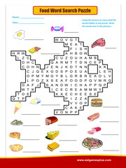 Food Word Search